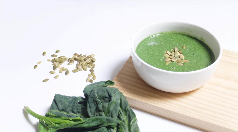 La super soupe aux épinards