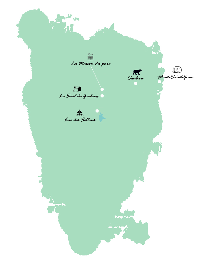 Parc naturel regional du Morvan_Carte_lemonetorange