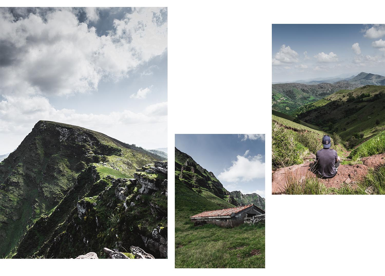 Randonnée au Pays Basque - Les crêtes d'Iparla-paysage-10