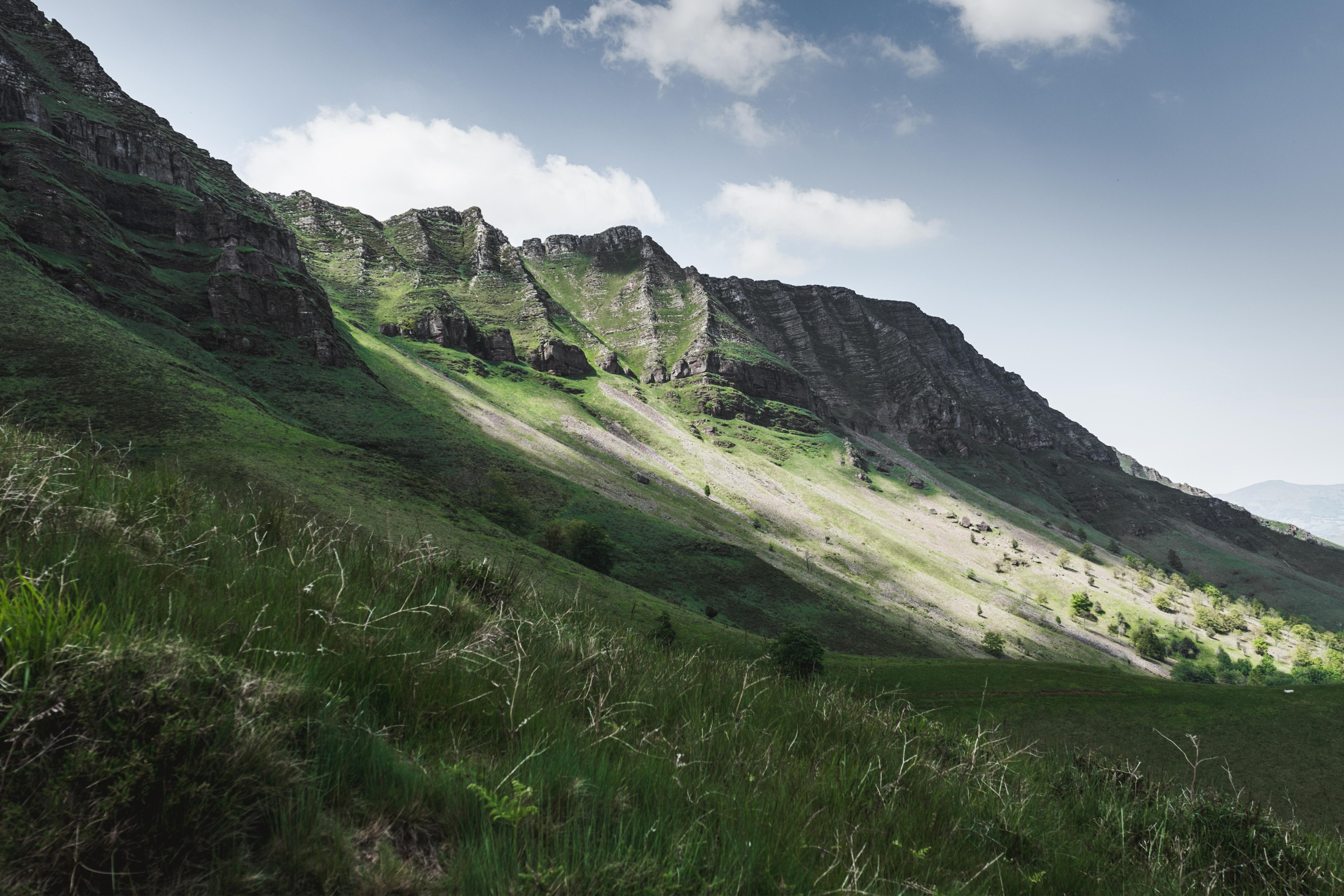 Randonnée au Pays Basque - Les crêtes d'Iparla-paysage-2