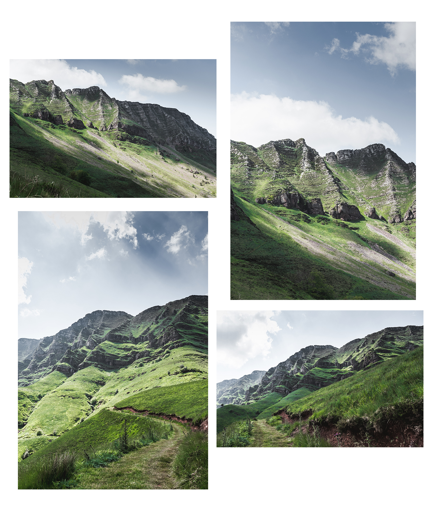Randonnée au Pays Basque - Les crêtes d'Iparla-paysage-3