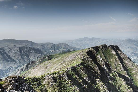 Randonnée au Pays Basque - Les crêtes d'Iparla