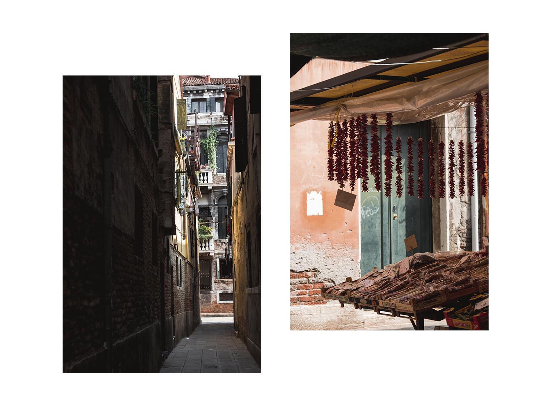 Une journee a Venise - Perdues dans les rues