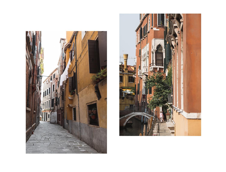 Une journee a Venise -Ruelle